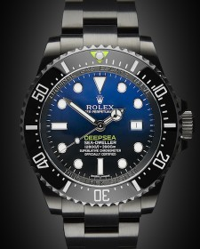 Rolex Deep Sea Sea Dweller Deep Blue II Titan Black DLC Coating Black