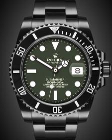 Rolex Submariner Date: Brunswick