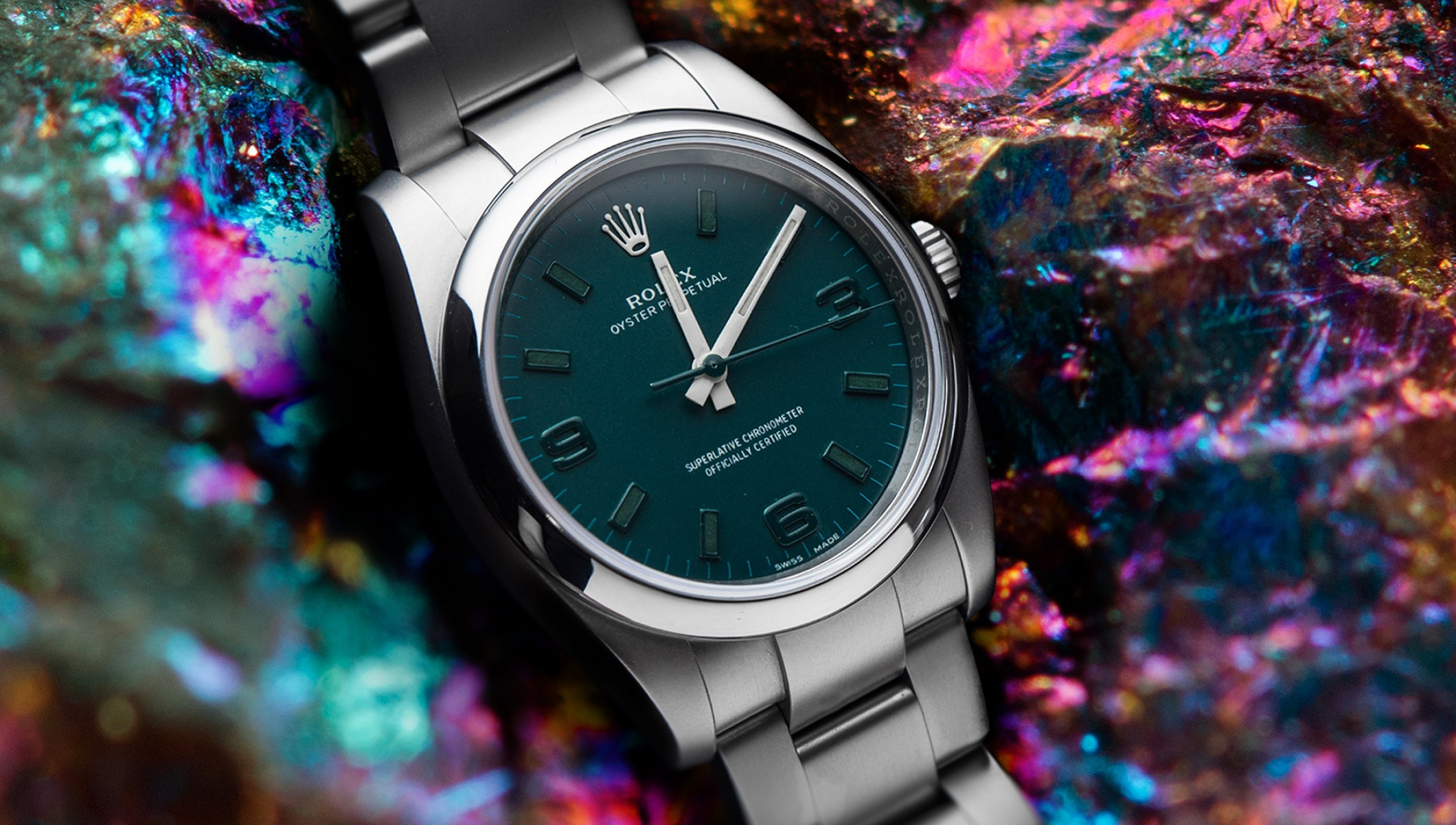 Oyster Perpetual Emerald