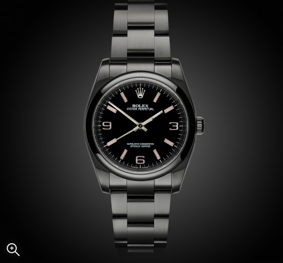 Rolex Oyster Perpetual: Candy Pink - TBlack DLC Coating