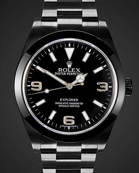 Rolex Explorer MK1 DLC PVD BLACK ROLEX