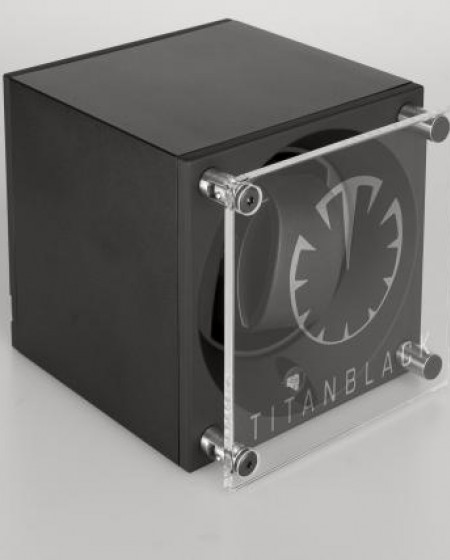 Special Edition Titan Black Kubik Automatic Watch Winder