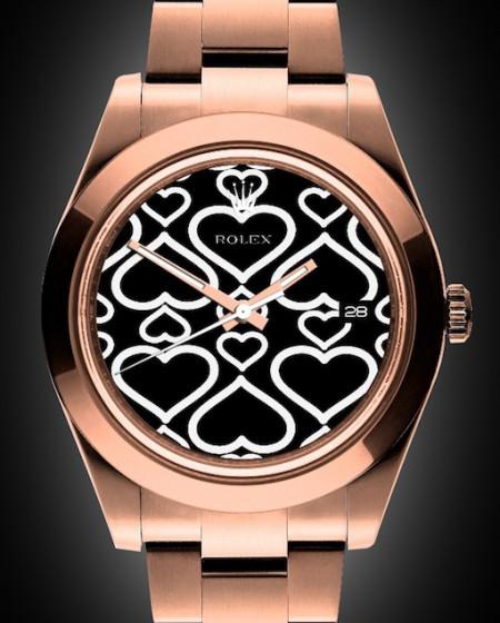 Rolex Datejust I: Rosé Oro - Rose Gold Coating