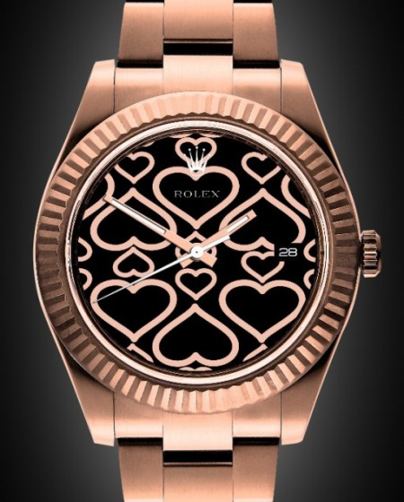 Rolex Datejust II: Rosé Oro - Rose Gold Coating