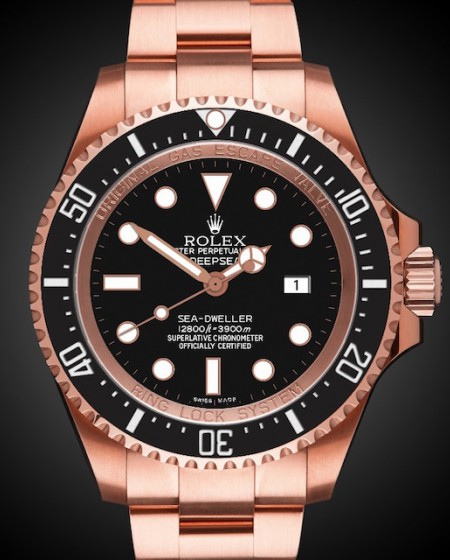 Rolex Deep Sea Rosé Oro - TBlack Rose Gold Coating