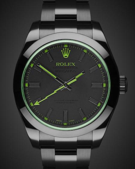 Rolex Milgauss Envy MKII - TBlack DLC Coating