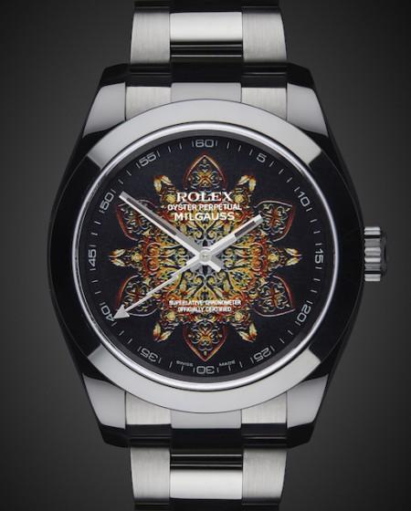 Rolex Milgauss: Mandala Titan Black DLC