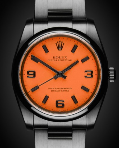 The Beach Collection: Neon Orange Titan Black Rolex