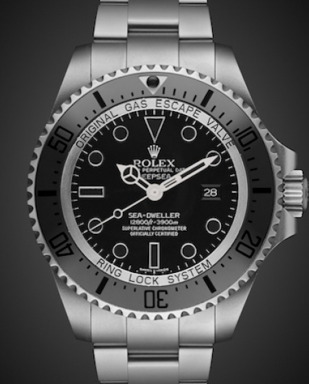 Rolex Deep Sea: Night Fury Titan Black SuperMatt Finish Stainless Steel