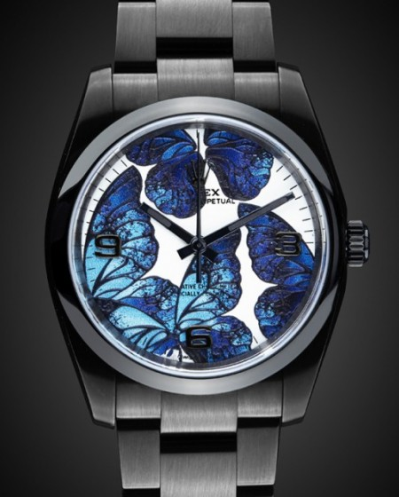 Rolex Oyster Perpetual: Blue Morpho