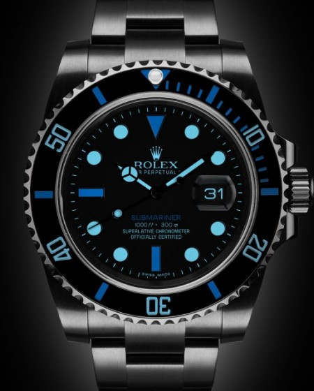 Rolex Submariner Date: Denim