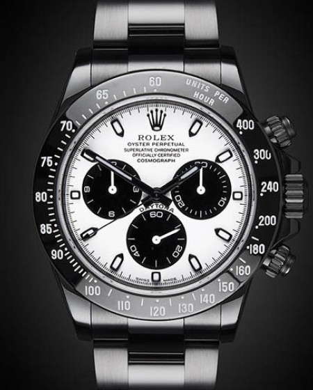 Titan Black Rolex Daytona: Phantom