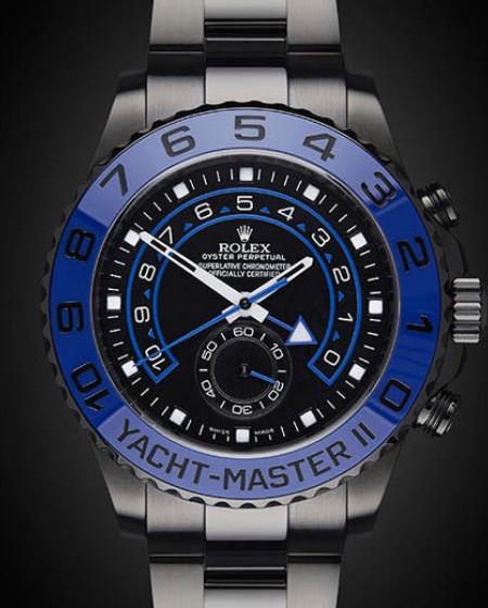 Titan Black DLC Rolex Yacht-Master II: MKII
