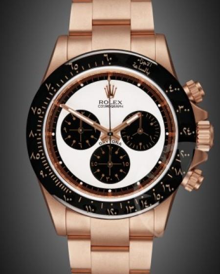 Rolex Daytona: Newman Oro Rose - Arabic Edition